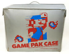 Original 1980's NES Nintendo GAME PAK CASE, RARE Box holds 16 Console Cartridges
