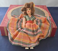 The Lovely Mary Jean Doll American Famous Character Doll in the Box Brown Hair