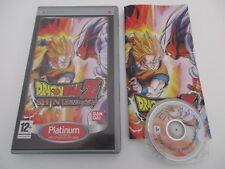 DRAGON BALL Z SHIN BUDOKAI - SONY PSP - Jeu PSP PLATINUM Complet