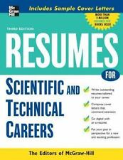 Resumes for Scientific and Technical Careers (McGraw-Hill Professional-ExLibrary