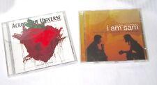 2 Beatles Cover Songs CDs - Soundtracks - I Am Sam, Across the Universe