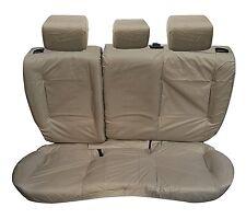 Range Rover Evoque 5Door Rear Inka Tailored Waterproof Seat Covers Beige MY11-16