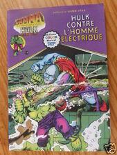 """BD  """"HULK CONTRE L'HOMME ELECTRIQUE"""", AREDIT 1979, EN TRES BON ETAT"""
