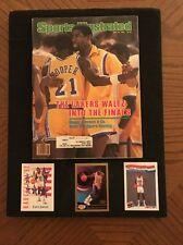1982 Earvin Magic Johnson L.A. Lakers Sports Illustrated 3 Card Lot Mancave
