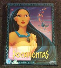 Disney POCAHONTAS Blu-Ray SteelBook UK Exclusive Region All 1st Edition OOP Rare