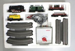 H0 Märklin 29185 Startset mit Güterzug Delta digital C-System OVP