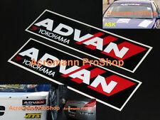 "2x 8.5"" 21.6cm ADVAN Yokohama Decal Sticker vinyl AD07 AD08 sport neova WTCC JDM"