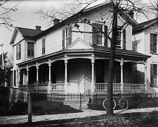New 11x14 Photo: Wright Brothers Home on Hawthorne St. in Dayton, Ohio - 1900
