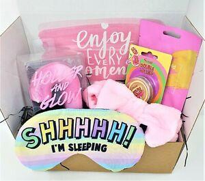 Easter PAMPER Gift Box Set Beauty Hamper Kit Bath & body Teen Girls Womens