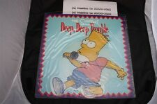 The Simpsons - Deep Deep Trouble (Bart/Homer) Shaped Picture Disc (1991) GEF88P
