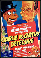 CHARLIE McCARTHY, DETECTIVE (1939) Edgar Bergen - NEW / SEALED / OUT-OF-PRINT