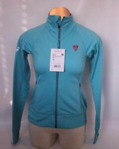 New Bontrager Women's Premium Track Jacket XS Cycling Bike Blue X-Small