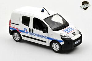 PEUGEOT BIPPER 2009 - Voiture police municipale France - 1/43 NOREV 479869