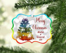 Gay Pride Christmas Ornament