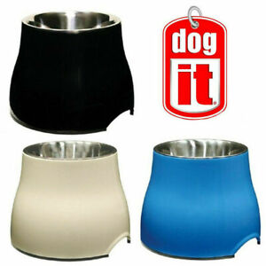 Dogit Elevated Dog Bowl Dish Raised Food Water for Large & Older Dogs 3 Colours
