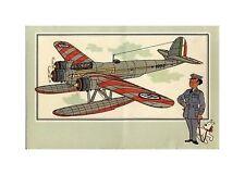 HERGé/TINTIN 195x  CHROMO L AVIATION 1939/45  N°  5 BE