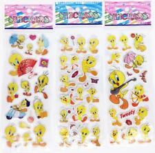 "New Classic 3d Cartoon Small Pvc Stickers ""Tweetybird""Children Birthday Gifts Us"