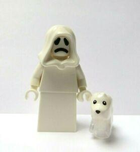 LEGO Ghost Minifigure Reversible Head & Ghost Dog  Halloween Monster