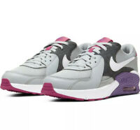 SALE! Nike CD6894 003 Nike Air Max Excee GS Trainers Grey White Purple Size UK 6