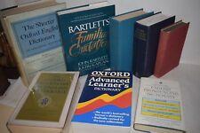AFFARE Dizionari INGLESE Fonetica Pronuncia Etimologia Oxford Bartlett Citazioni
