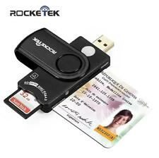 Memory Card Reader, Rocketek DOD Military USB Common Access CAC Smart Card