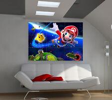 Super Mario large giant games poster print photo mural wall art ii187