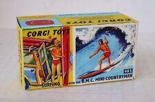 Repro Box Corgi Nr.485 Surfing with the BMC Mini Countryman