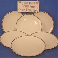 Dinner Plate White Vintage Original Porcelain & China