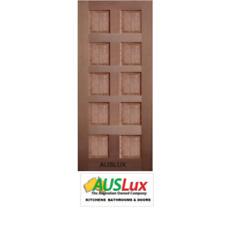 10 Panel solid timber internal external house entry door