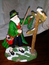 Pipka Santa EMERALD ISLE COLLECTION IRISH SANTA ULTRA RARE #1351