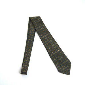 RRL RALPH LAUREN Men's Handmade Paisley Print Neat Wool Tie NEW NWT