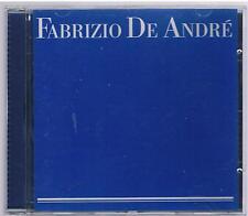 FABRIZIO DE ANDRE'  OMONIMO SAME ST CD