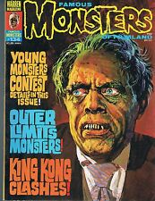 Famous Monsters #134 Outer Limits King Kong The Black Cat and more 1977