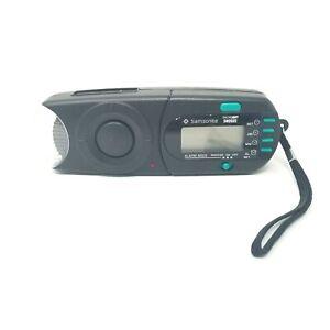 Samsonite Security Travel Door Motion Alarm / Flashlight / Backlit LCD Clock