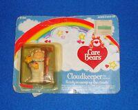"Vintage 1984 Care Bears Cloudkeeper 2"" Figure Carded"