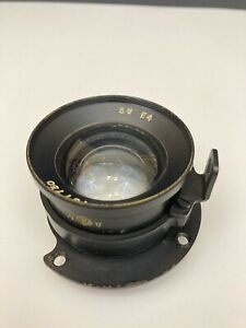 Ross Xpres AIR MINISTRY Brass Wide Angle Lens F/4 5 In. Aerial WWII WW2 British