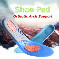 Silicone Gel Insoles Orthotic Arch Support Comfort Shoe Insert Pad Sport Cushion