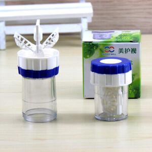 Manuell Kontaktlinsen-Reiniger Waschmaschine Reinigung Linse-Kasten New 5E4W