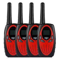 4X radio set 8 canals walkie talkie PMR Portable Radio reach 5 km 2 Way Radio EL