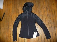 Lululemon DOWN FOR IT ALL JACKET Black sz 4 NWT