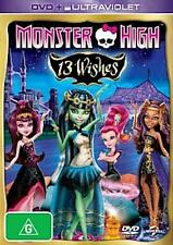 Monster High: 13 WISHES : NEW DVD