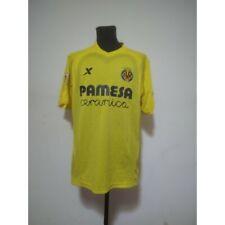 Villarreal soccer jersey XtepSport 2014/2015 Size XL match worn LFP patch