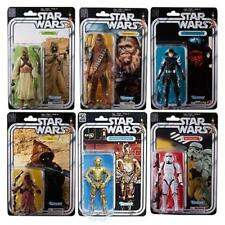 In STOCK Hasbro Toys Star Wars Black Series 40th Ann. Wave 2 Action Figure Set