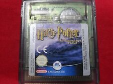 HARRY POTTER AND THE PHILOSOPHER'S STONE A L'ECOLE DES SORCIERS GAME BOY COLOR