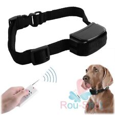 Electric Safe Anti Bark Dog Collar Stop Barking Training Aid with Remote Control