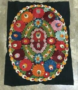 145 Vintage Uzbek Hand Embroidery Tapestry Home Decor Wall Hanging Tapestry