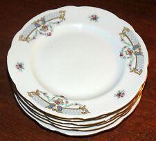 "6 CMielow Poland 6 1/4"" Bread plates MINT!"
