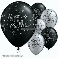 "Happy Birthday 25 Latex Baloons Balons Ballons Balloons Balloon 11"" Party 25235"