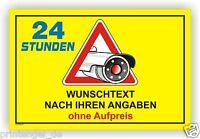 Schild,Aufkleber,video überwachung,videoüberwacht,video,Individuell, Kamera Vi55