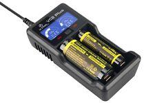 Xtar VC2Plus Master USB 2 Schacht Ladegerät für Li-Ionen und Ni-Mh Akku